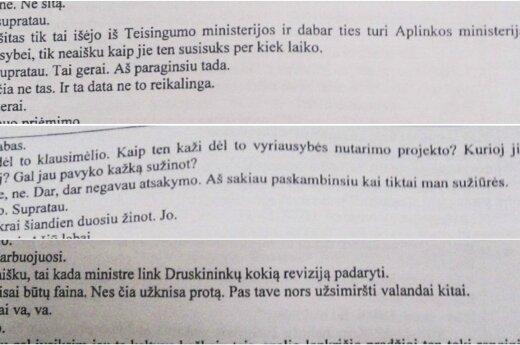 Generalinė prokuratūra: dėl pokalbių stenogramų paviešinimo
