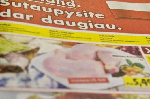 Polskie supermarkety reklamują się w litewskiej prasie