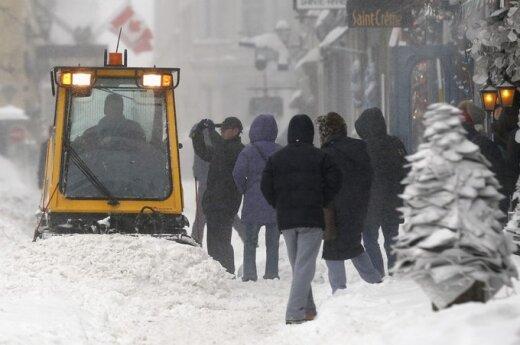На Торонто и восток Канады обрушился ледяной шторм