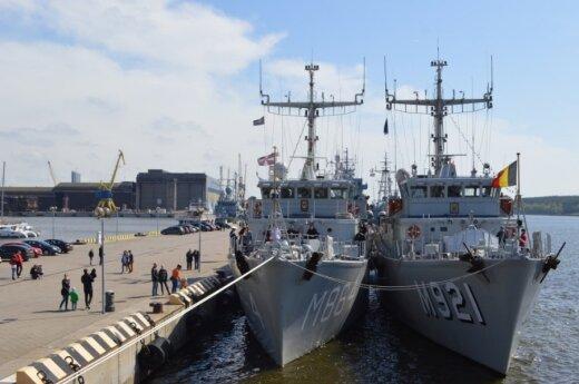 В Балтийском море проходят крупные военные учения