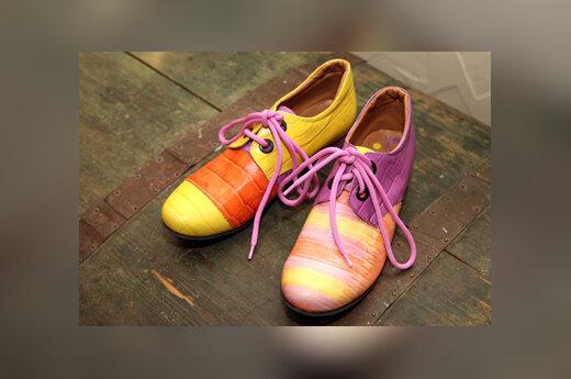 Avalynės dizainerės Rūtos Rimšelienės batai