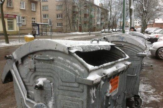 В Клайпеде в мусорном контейнере обнаружили труп младенца