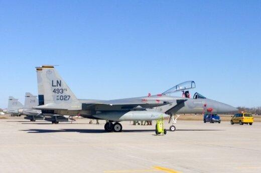 Kolejne samoloty NATO lecą na Litwę