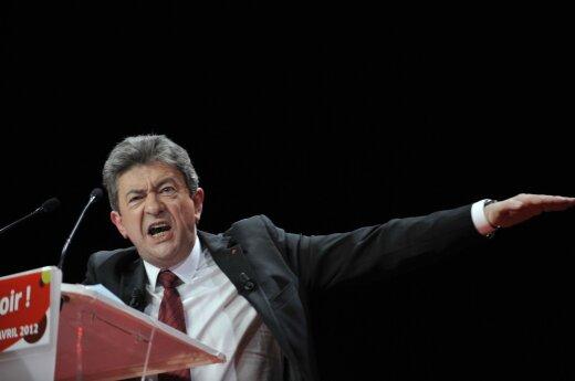 Juodasis scenarijus Europai: prancūzams prezidentą gali tekti rinkti iš nacionalistės ir komunisto