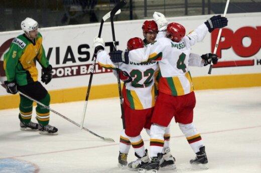 Литовские хоккеисты обыграли австралийцев