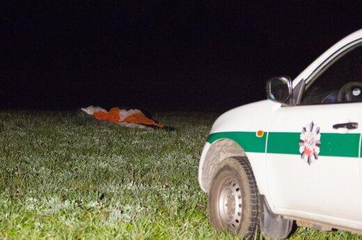 В субботу вечером в Вильнюсском районе упал планер
