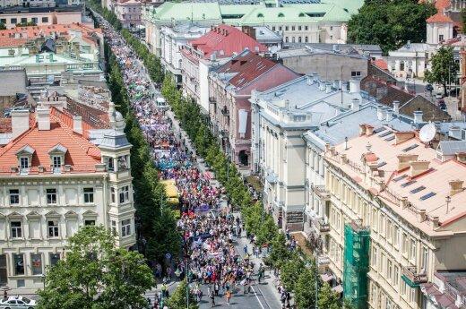 Baltic Pride march