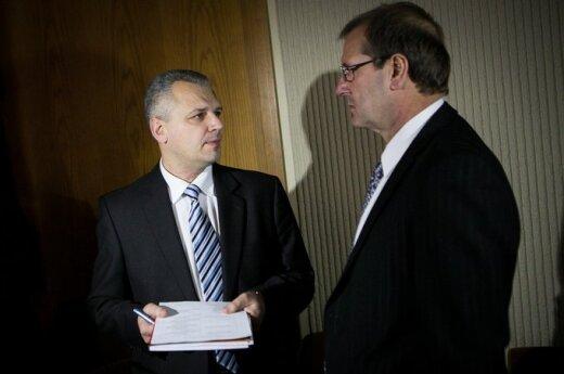 Vigilijus Jukna ir Viktoras Uspaskichas