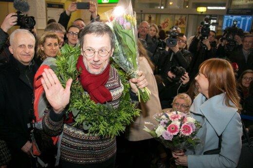 Prof. Liudas Mažylis back from Berlin