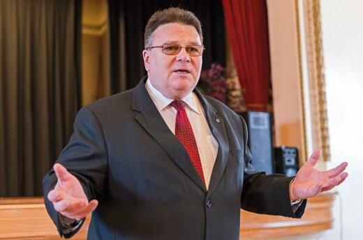 Foreign Minister Linas Linkevičius. Photo Ludo Segers