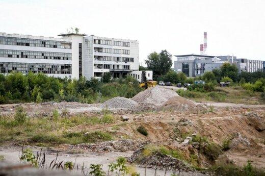 В Вильнюсе готовят площадку под строительство второго ТЦ Akropolis