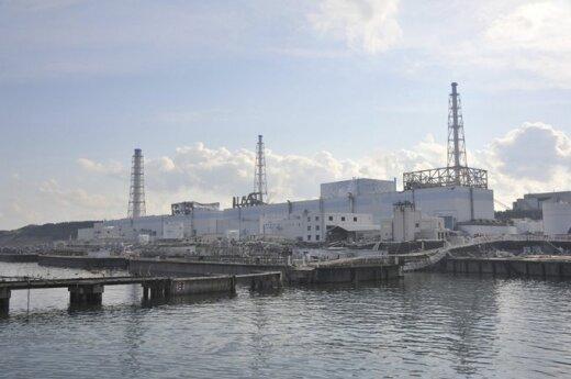 Kłęby pary nad elektrownią Fukushima-1