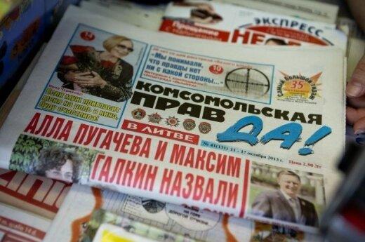 """""""Komsomolskaja pravda"""" atskleidė, kodėl Lietuvoje demonstravo draudžiamus simbolius"""