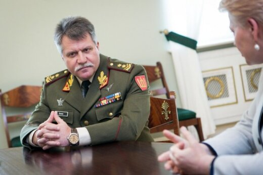 Сейм одобрил назначение Жукаса главкомом ВС Литвы