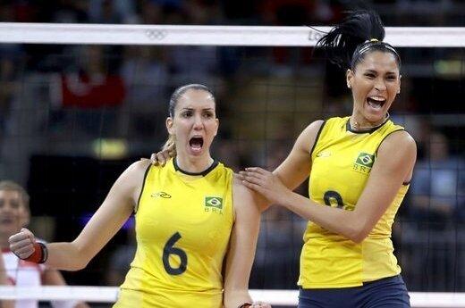 Американки победили в баскетболе, бразильянки — в волейболе