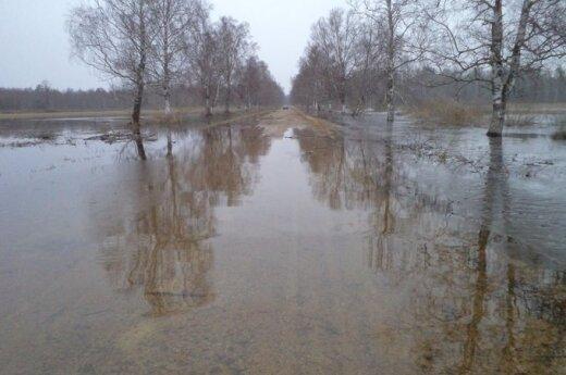 Pamaryje - potvynis