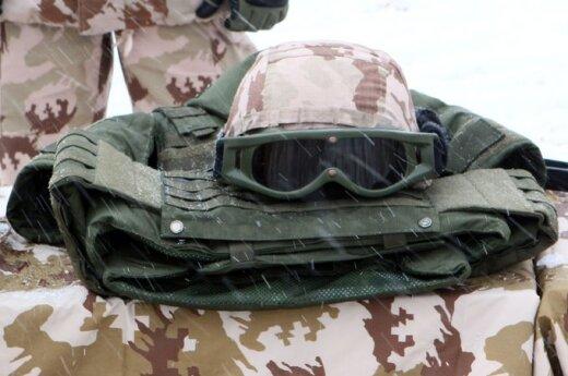 Pratybos Kazlų Rūdoje – paskutinis karių įvertinimas prieš misiją Afganistane