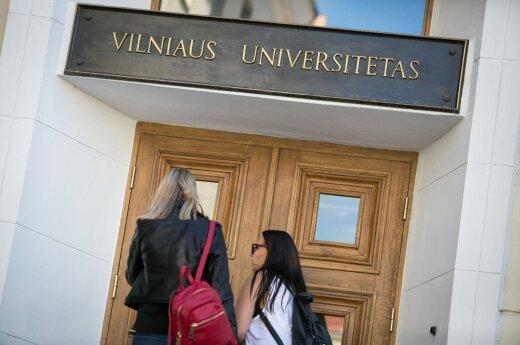 The Vilnius University students