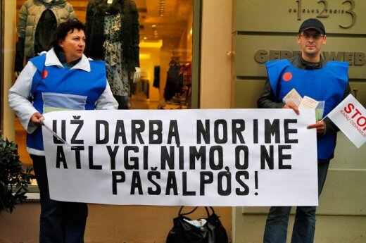 Премьер Литвы не дает надежды на повышение минимальной зарплаты