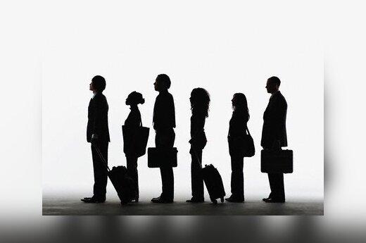 35% жителей Литвы не прочь поработать за рубежом