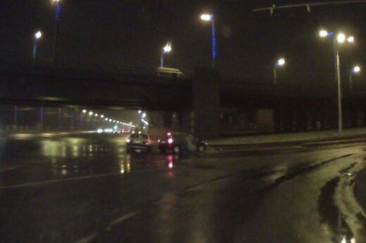 Netikėtai nufilmavo avariją Kauno gatvėse