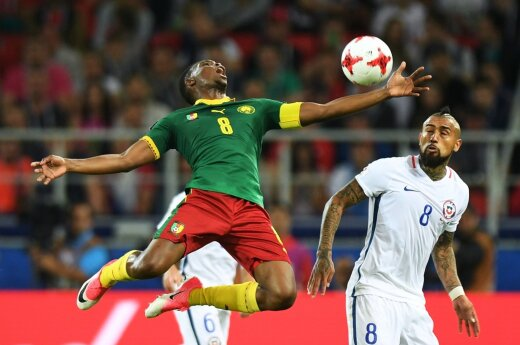 FIFA Konfederacijų taurė: Čilė – Kamerūnas