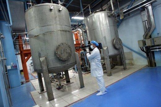 Irano branduolinio kuro gamykla Istafane