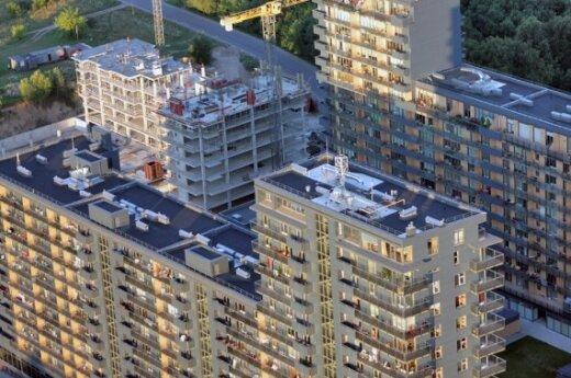 Растет спрос на 1-2-комнатные квартиры