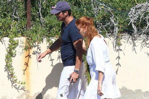 Sarah Ferguson ir Manuel Fernandez