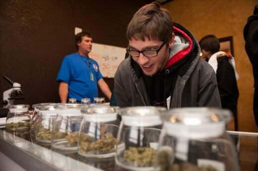 Denveris (JAV) legalizavo marihuaną