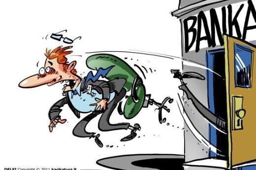 Растет число групповых увольнений: Центробанк Литвы уволит 51 работника
