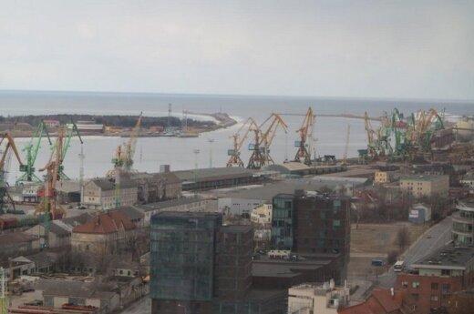 Клайпедский порт остается лидером в контейнерных погрузках