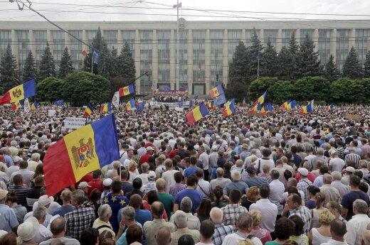 Moldovos parlamentui nepavyko patvirtinti naujos vyriausybės