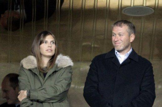Darja Žukova ir Romanas Abramovičius