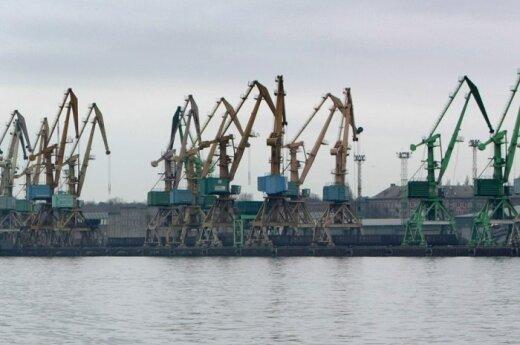 """""""Klaipėdos smeltėje"""" žuvo darbininkas"""