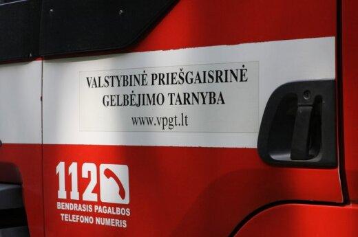 В Каунасском районе в пожаре погибли мужчина и женщина