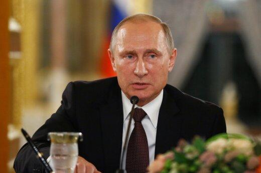 V. Putinas su Turkijos ir Irako lyderiais aptarė padėtį Mosule