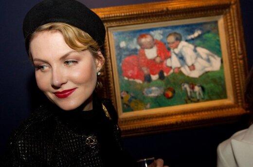 Рената Литвинова показала свою маму