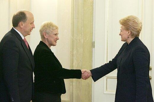 Andrius Kubilius, Irena Degutienė ir Dalia Grybauskaitė