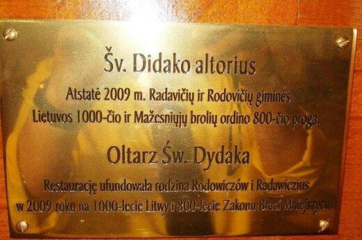Ołtarz św. Dydaka
