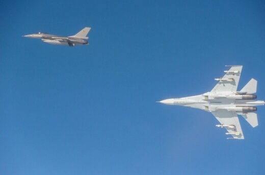 NATO fighter-jets in Lithuania
