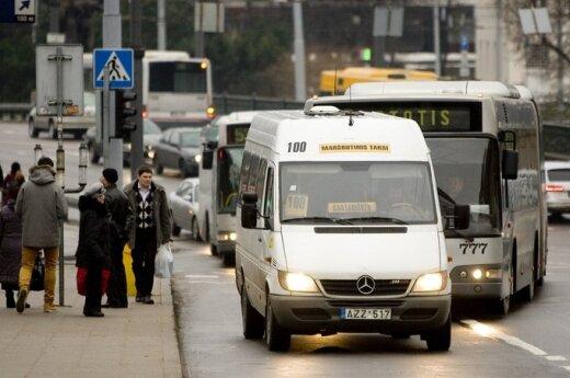Keleivių asociacija: kas bus maršrutiniams taksi?