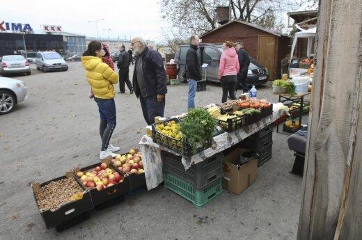 Рынок на ул. Укмергес после пожара начнет работать в эти выходные