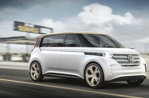 "Koncepcinis ""Volkswagen Budd-e"""