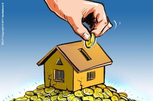 Цены на жилье могут расти только в Вильнюсе