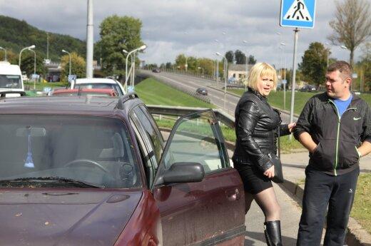 Виновница ДТП без прав во всем винила другого водителя