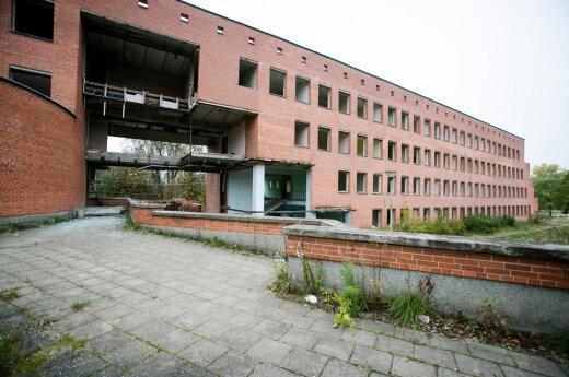 Former building of the Traffic Policeon the Giraitės Str.