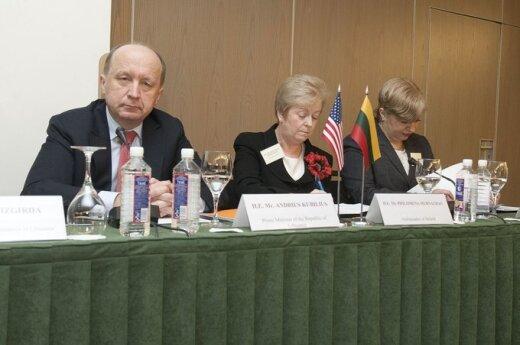 Andrius Kubilius, Philomena Murnaghan ir Dalia Ambrozaitienė