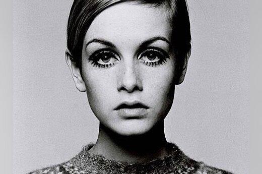 Mados ikona Twiggy: supermodelio sėkmės istorija