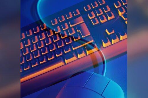 kompiuteris, IT, internetas, klaviatūra, pelė